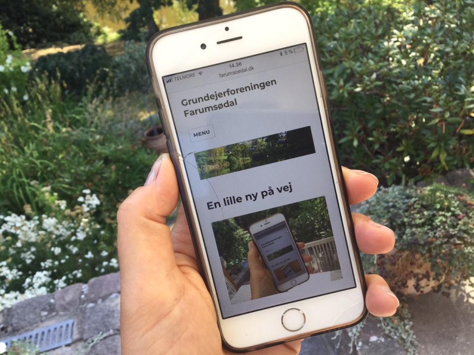 Mobilt website